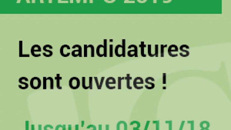 candidature artempo 2019