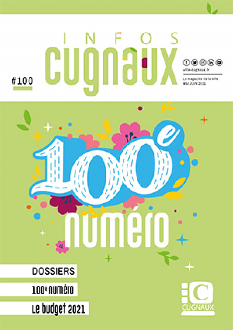 couv magazine 100 mai-juin 2021