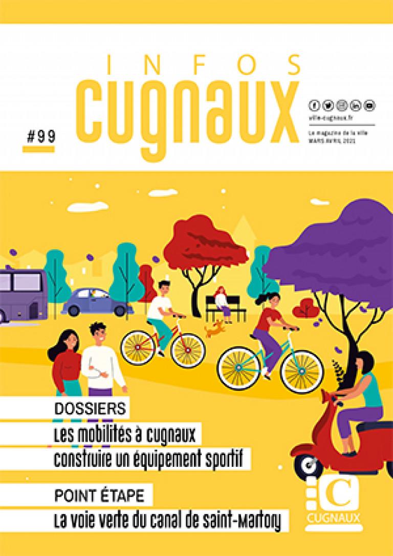 Magazine Cugnaux Infos 99 - Mars-avril 2021 - COUV